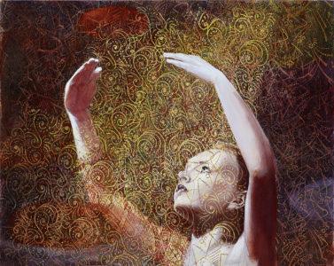 Mathias Perlet, Stück vom Glück, 80x100 cm, 2016, Öl auf Leinwand