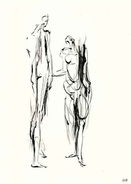 Reinhard Minkewitz, Morgensonett, 49,5x37,5 cm, 1999, Radierung