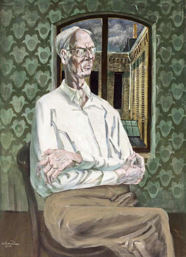 Günter Richter, Der Maler Günter Thiele, 110x80 cm, 2010, Öl auf Leinwand