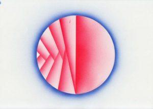 Jeong Hwa Min, Eclipse #9, o. J., Airbrush