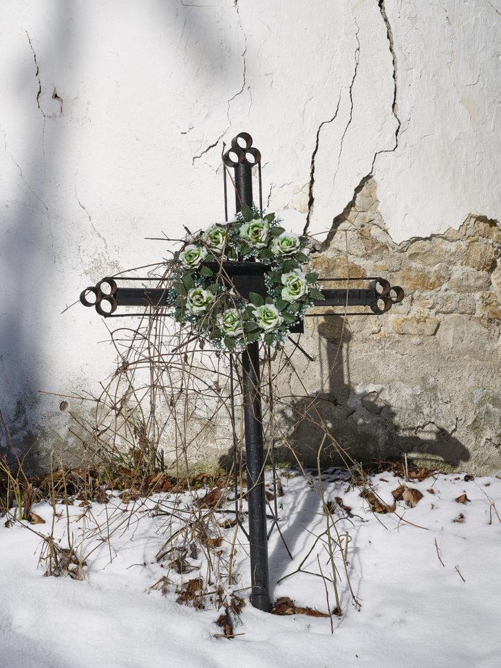 Bertram Kober, Grabstätte, Digitalprint kaschiert auf Alu, verglast gerahmt