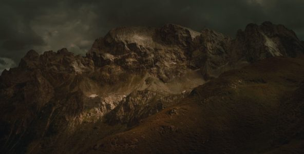 Florian Richter, Monte Avanza, 132 x 65 cm, 2018