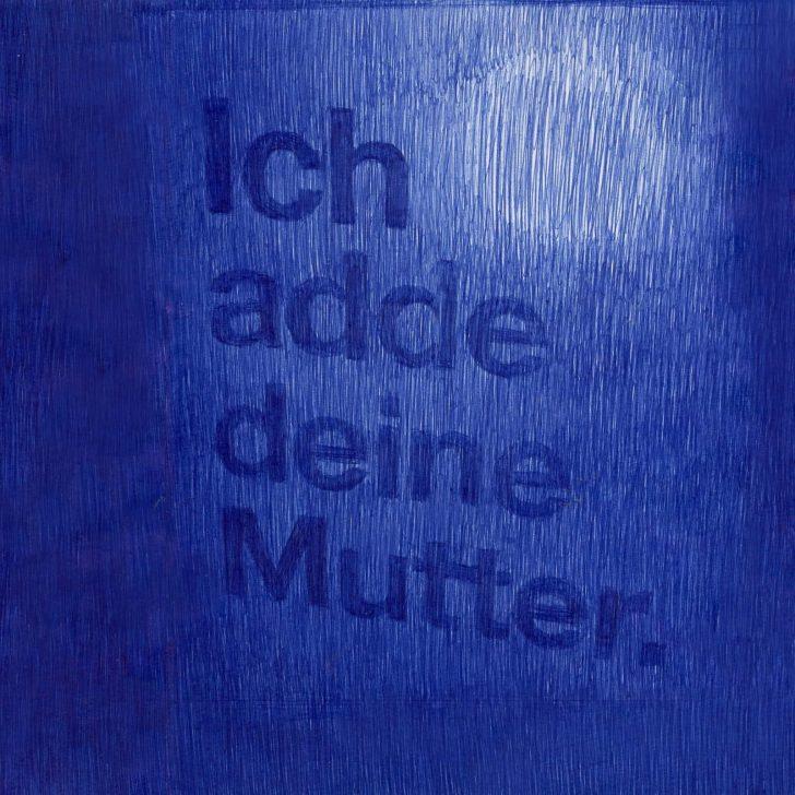 Nadine Wölk, Ich adde deine Mutter., Mischtechnik auf Papier