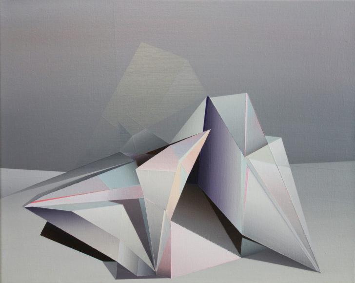 Marten Kirbach, Stillleben, 40x50 cm, 2018, Acryl auf Leinwand