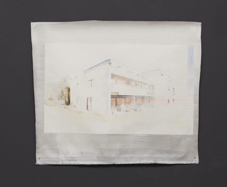"Gabriele Worgitzki, aus der Serie ""Phantasma"", o. T., 83x72 cm, Acryl auf Leinwand, 2018"