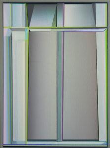 Marten Kirbach, Modul III, 40x30 cm, 2020, Acryl auf Leinwand